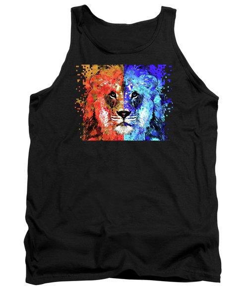 Lion Art - Majesty - Sharon Cummings Tank Top