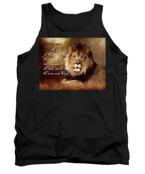 Lion Of Judah Tank Top by TnBackroadsPhotos