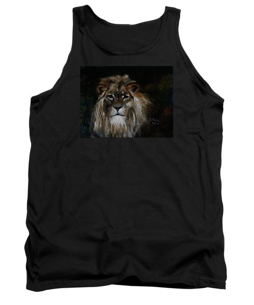 Sargas The Lion Tank Top by Barbie Batson