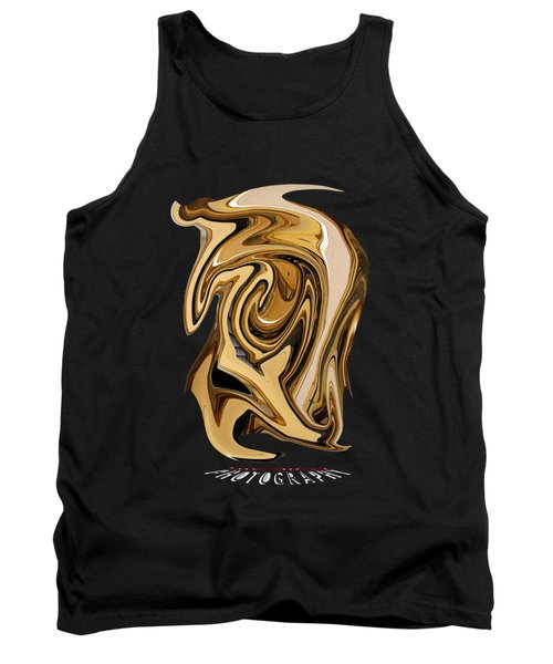 Liquid Gold Transparency Tank Top