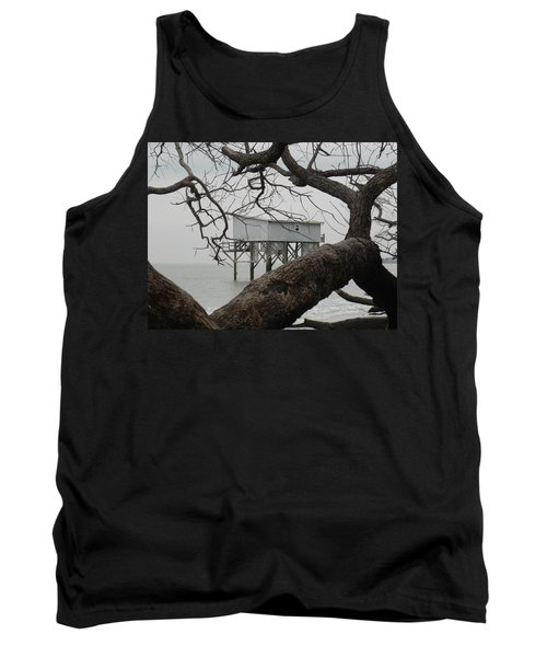 Tank Top featuring the photograph Little Blue Gone But Not Forgotten by Patricia Greer