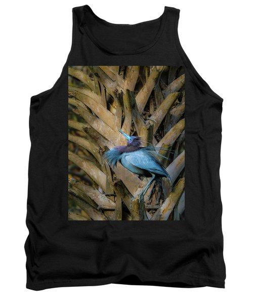 Little Blue Heron Tank Top