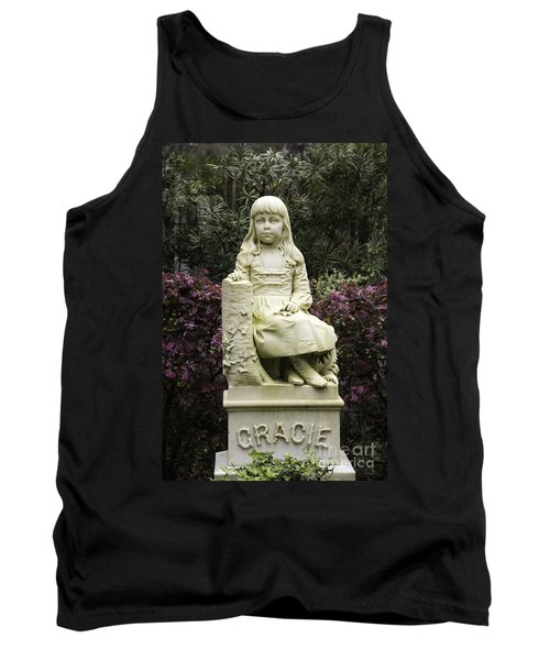 Little Gracie Bonaventure Cemetery Tank Top by Jeannette Hunt