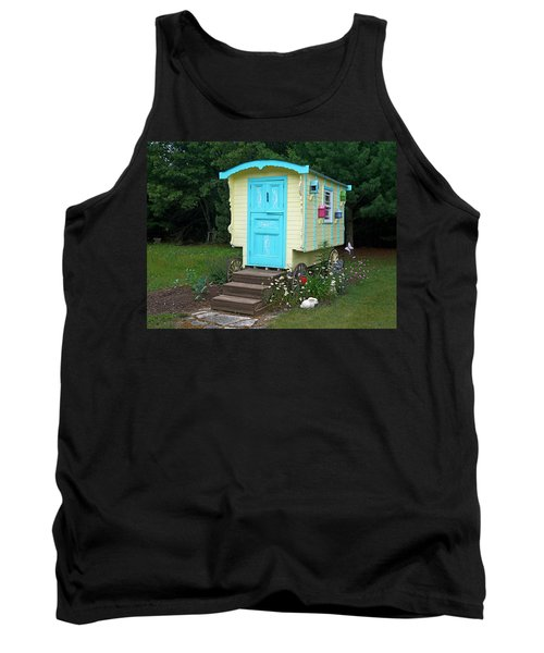 Little Gypsy Wagon II Tank Top by Judy Johnson