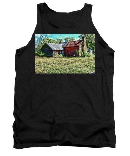 Little Red Farmhouse Tank Top by Paul Ward