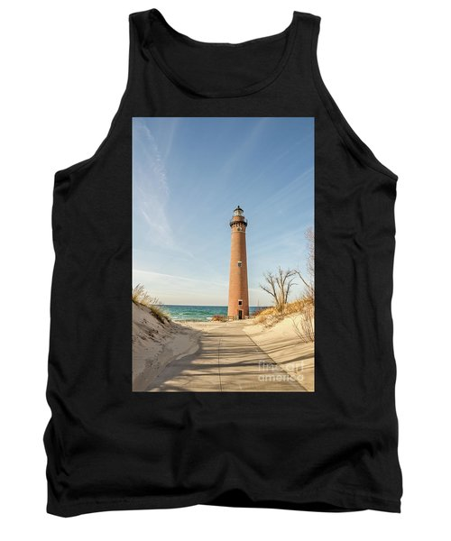 Little Sable Point Lighthouse Tank Top