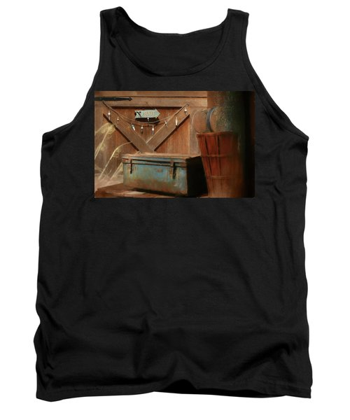 Tank Top featuring the photograph Live Bait by Lori Deiter