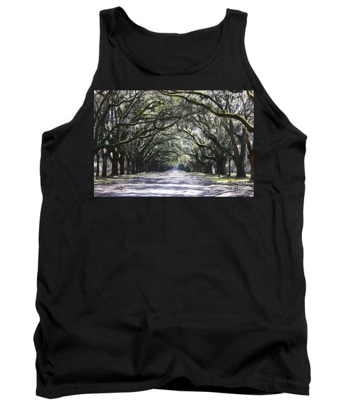 Live Oak Lane In Savannah Tank Top
