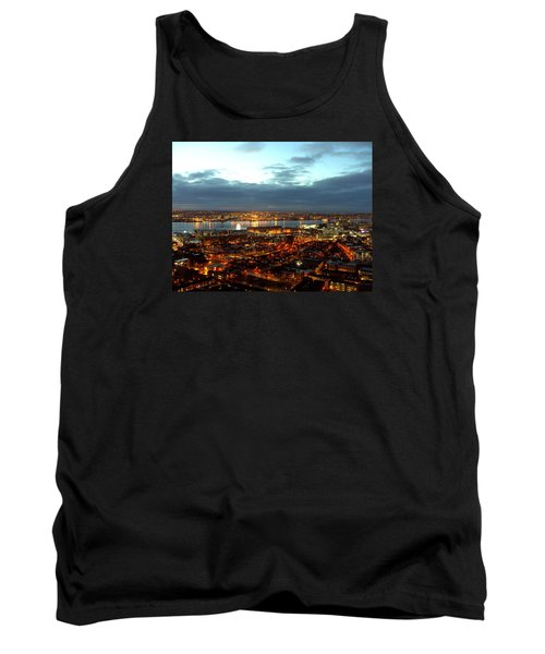 Liverpool City And River Mersey Tank Top
