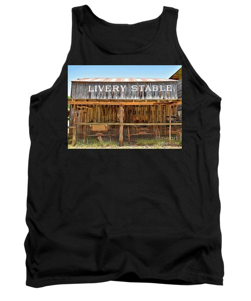 Livery Stable Tank Top by Ray Shrewsberry