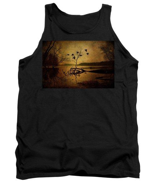 Ethereal Autumn Tank Top