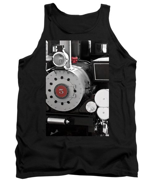 Locomotive Number Five Tank Top