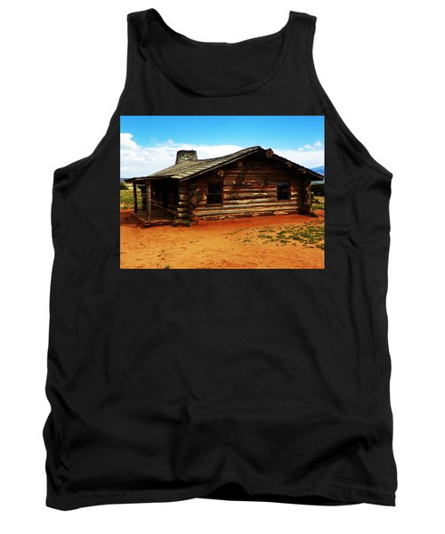 Log Cabin Yr 1800 Tank Top