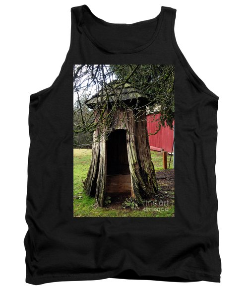 Loggers Outhouse Tank Top by Clayton Bruster