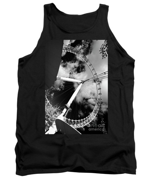 London Ferris Wheel Bw Tank Top