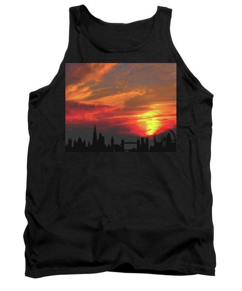 Sunset London Tank Top