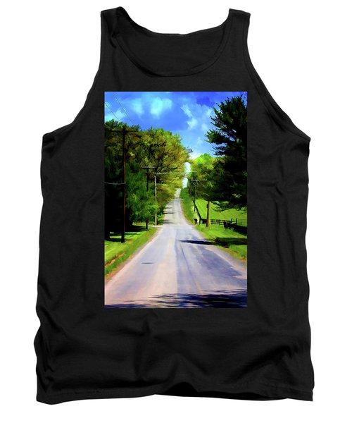 Long Road Ahead Tank Top