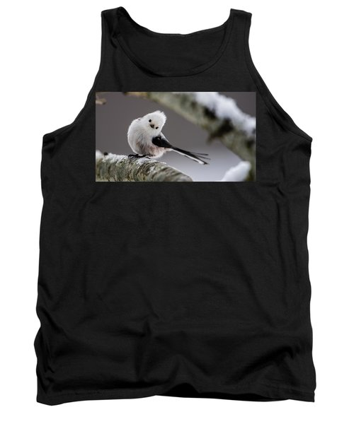 Tank Top featuring the photograph Long-tailed Look by Torbjorn Swenelius