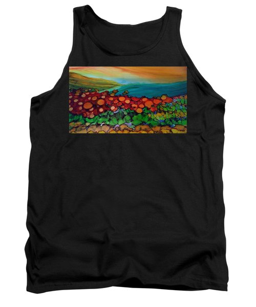 Looking East Tank Top