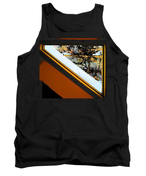 Looking Out My Brothers Window Tank Top by Lenore Senior