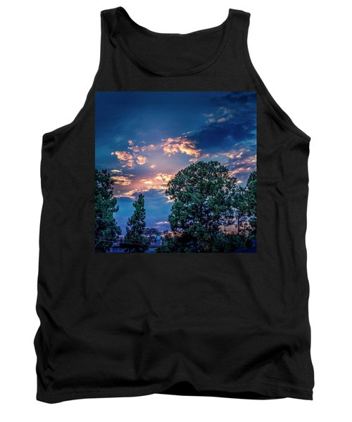 Looking West At Sunset Tank Top