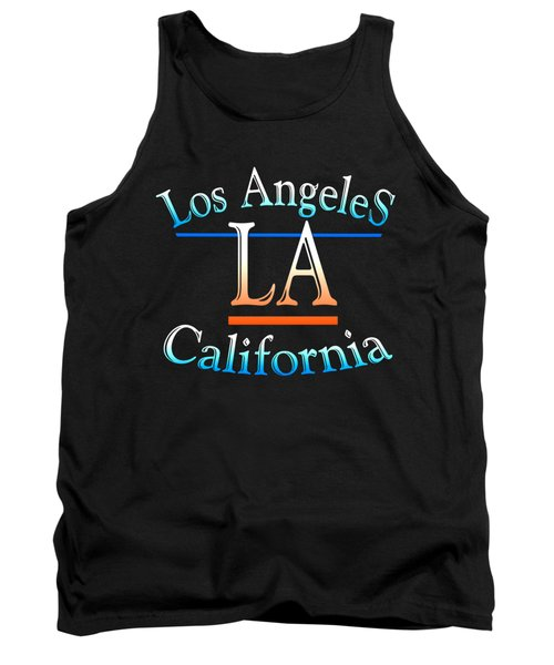 Los Angeles California Design Tank Top