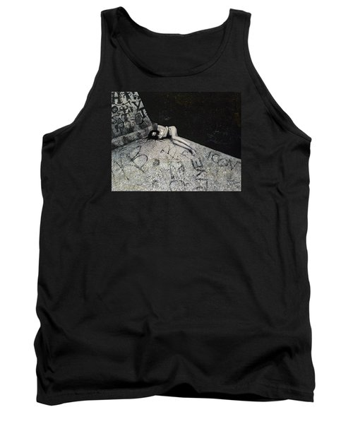 Lost In New York Tank Top by Yelena Tylkina