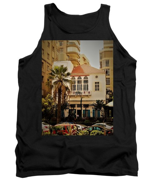 Lost In The Urban Jungle  Beirut  Tank Top