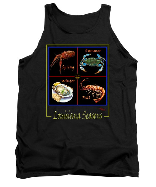 Tank Top featuring the painting Louisiana Seasons by Dianne Parks