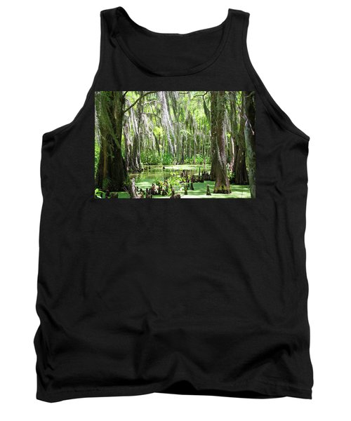 Louisiana Swamp Tank Top by Inspirational Photo Creations Audrey Woods