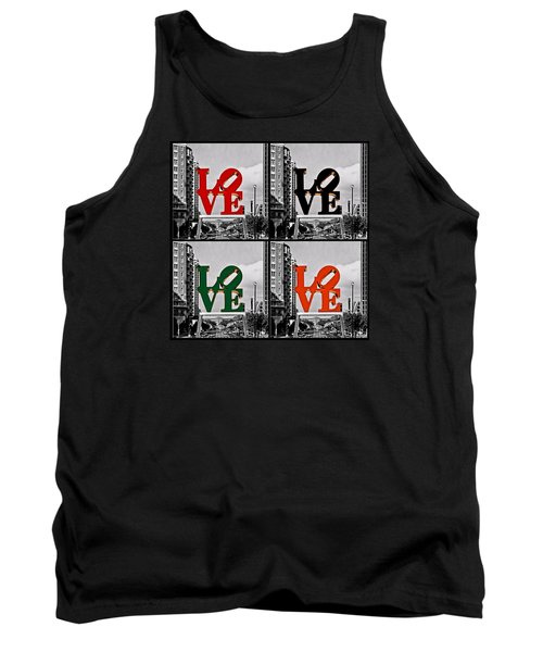 Tank Top featuring the photograph Love 4 All by DJ Florek