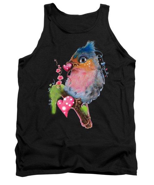 Love Bird Tank Top by Sheena Pike