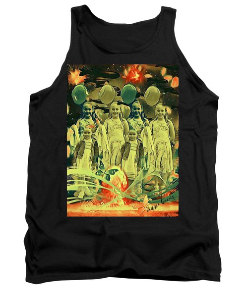 Love In The Age Of War Tank Top by Vennie Kocsis
