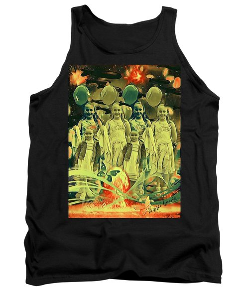 Love In The Age Of War Tank Top