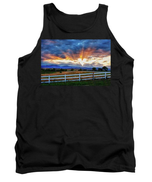 Tank Top featuring the photograph Love Is In The Air by James BO Insogna