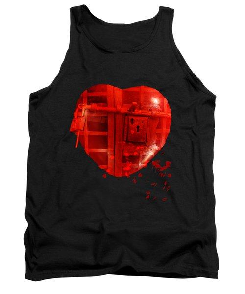 Love Locked Tank Top by Linda Lees