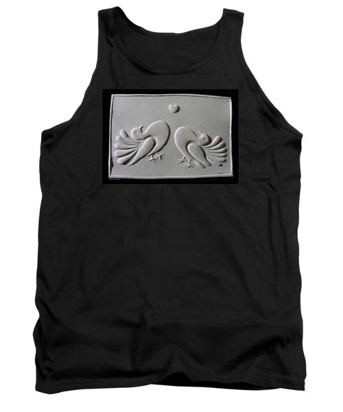 Tank Top featuring the relief Love by Suhas Tavkar