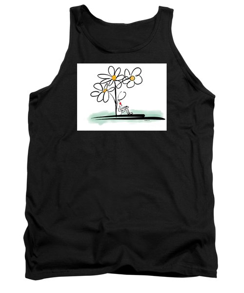 Tank Top featuring the photograph Love You by Haleh Mahbod