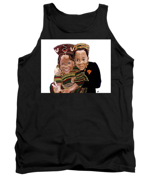 Love You Sister Love You Brother Tank Top