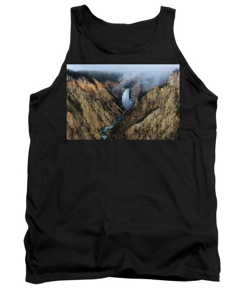 Lower Yellowstone Falls Sunrise Tank Top