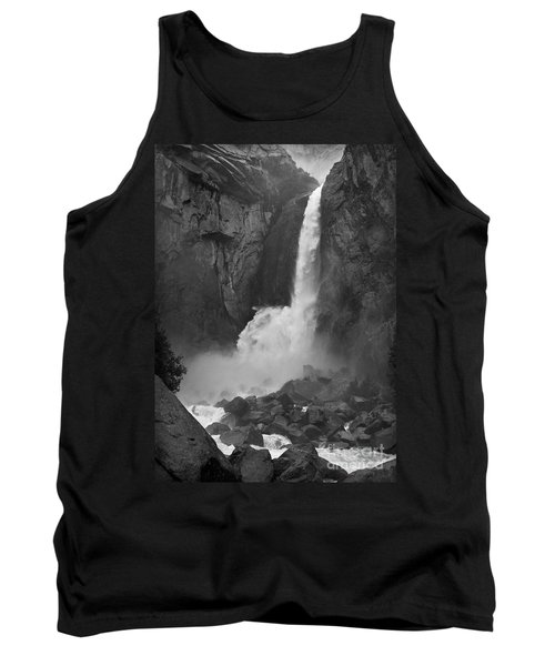 Tank Top featuring the photograph Lower Yosemite Falls by Martin Konopacki