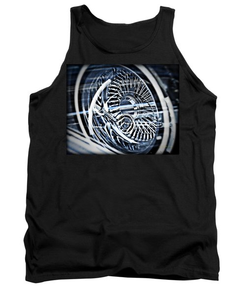 Lowrider Wheel Illusions 1 Tank Top