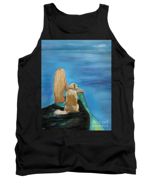 Loyal Mermaids Friend Tank Top