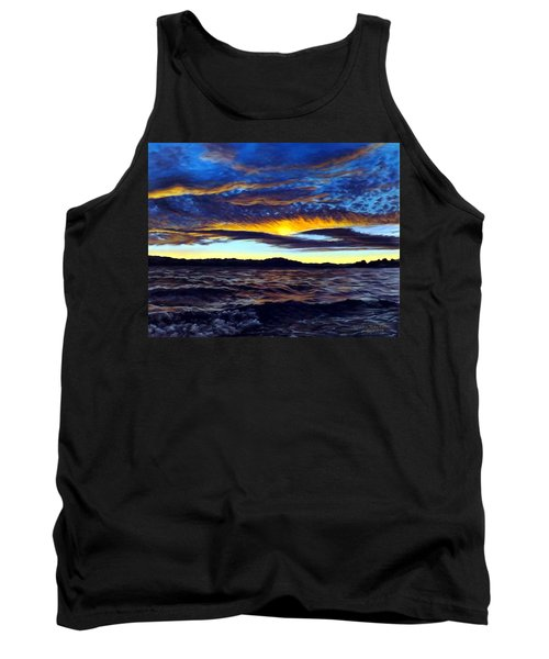 Lucerne Sunset Tank Top