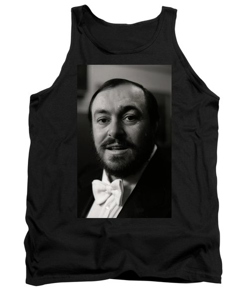 Luciano Pavarotti Tank Top