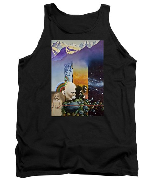 Lucid Dimensions Tank Top by Cliff Spohn