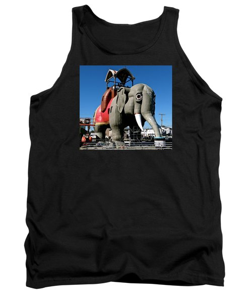 Lucy The Elephant Tank Top by Ira Shander