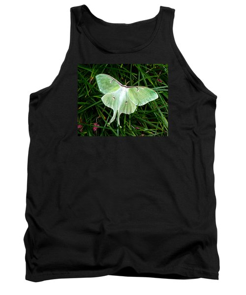 Luna Mission Accomplished Tank Top by Carla Parris