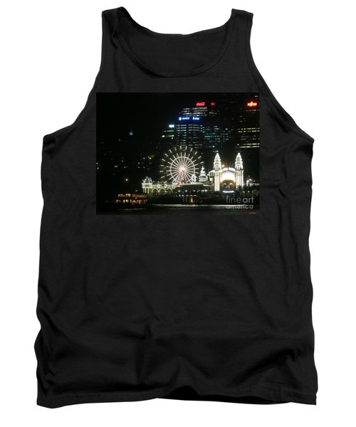 Tank Top featuring the photograph Luna Park by Leanne Seymour