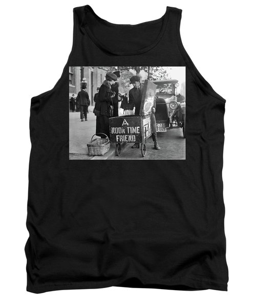 Lunch Cart In Washington D C Tank Top